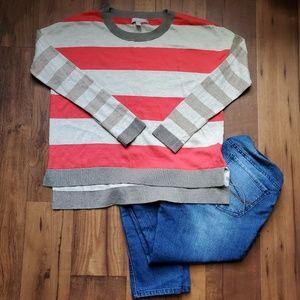 Banana Republic Factory • Striped Crop Sweater